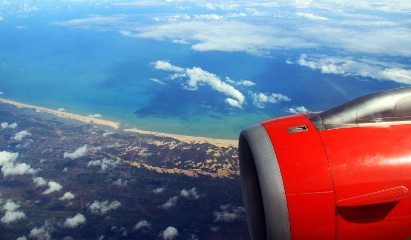 Avião em Maceió