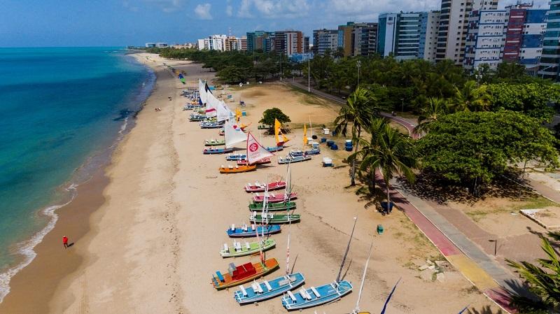 Praia em Maceió