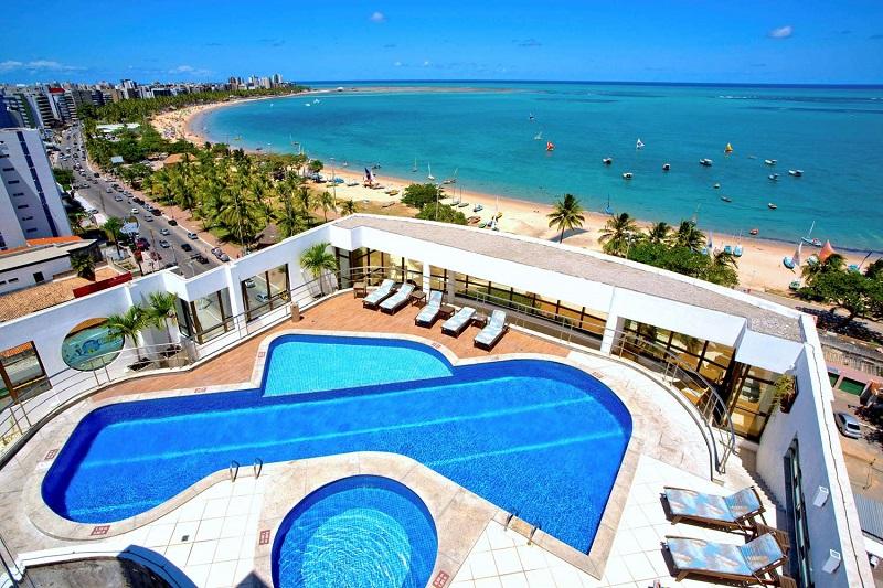 Hotel luxuoso de Maceió