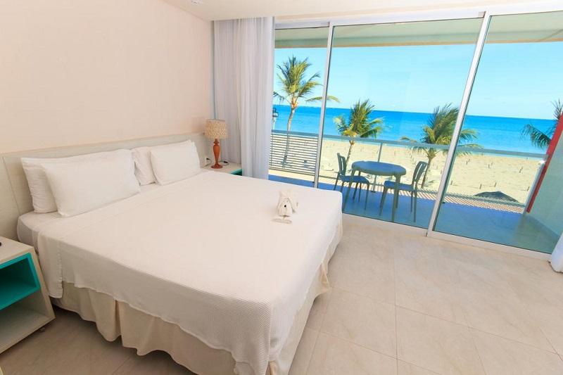 Hotel Praia Dourada em Maragogi - Quarto