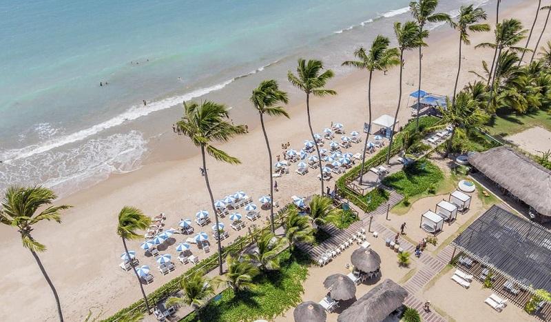Salinas All Inclusive Maragogi - Hotel beira mar