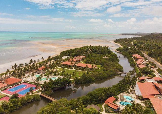 Hotéis de frente pra praia em Maragogi