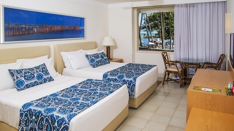 Jatiuca Hotel & Resort em Maceió - Quarto