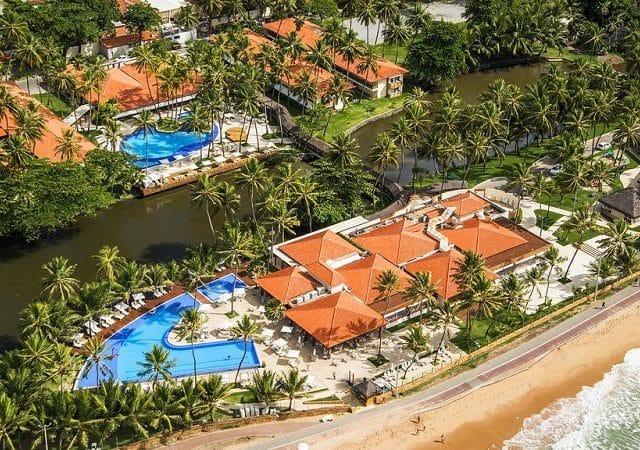 Hotéis de frente pra praia em Maceió