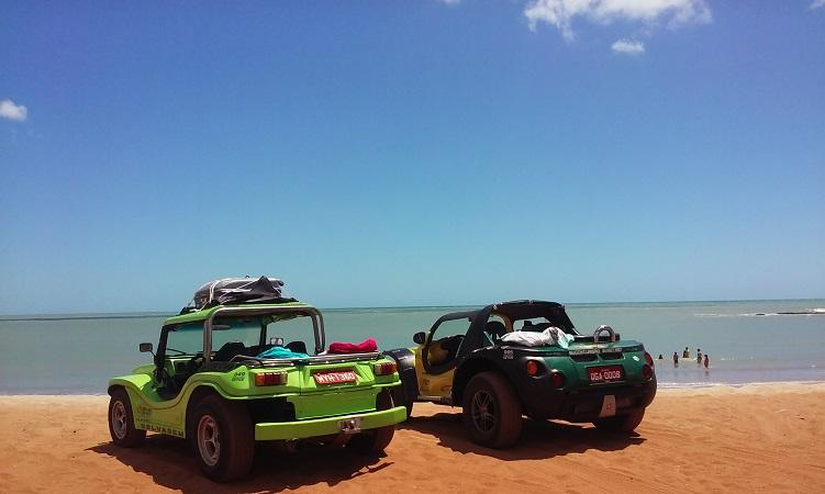 Passeio de buggy em Alagoas