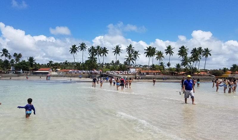 Praia de Barra Grande em Maragogi
