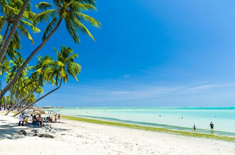Praia paradisíaca em Maceió - Alagoas