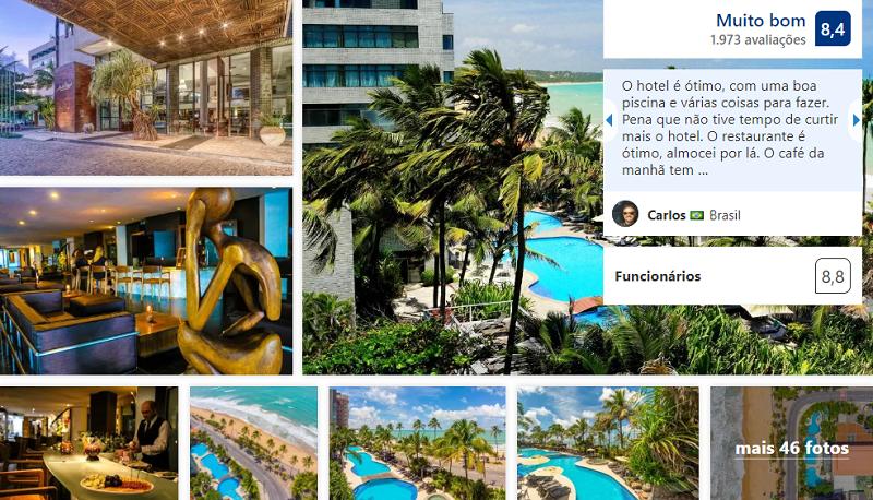 Ritz Lagoa da Anta Hotel & SPA em Maceió
