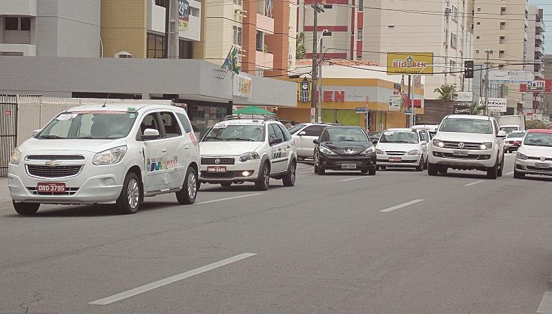 Táxi em Maceió