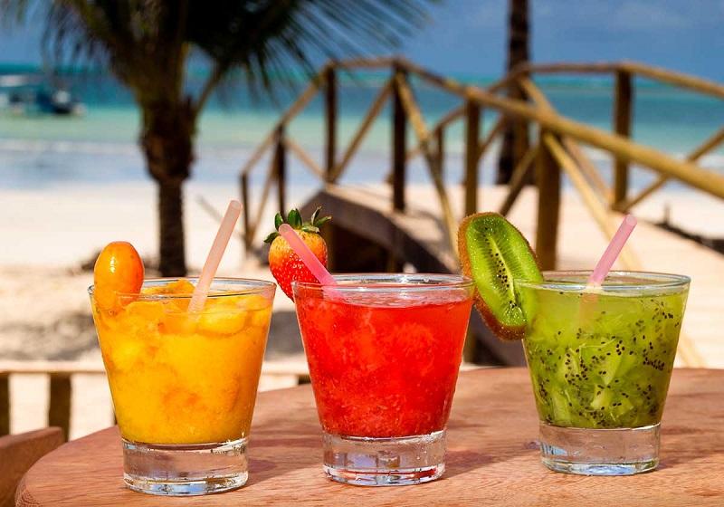 Caipirinhas do Hibiscus Beach Club - Praia Ipioca