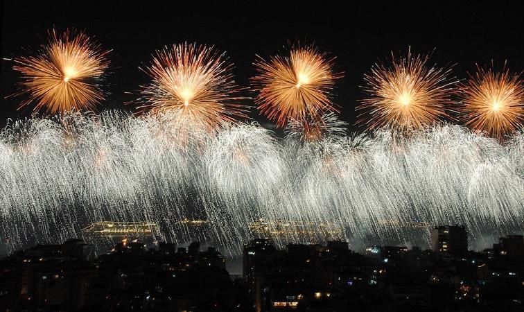 Ano Novo em Porto de Galinhas